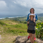2015-01 Barbados Trip_0289 Daniel & Lindsey at Cherry Tree Hill