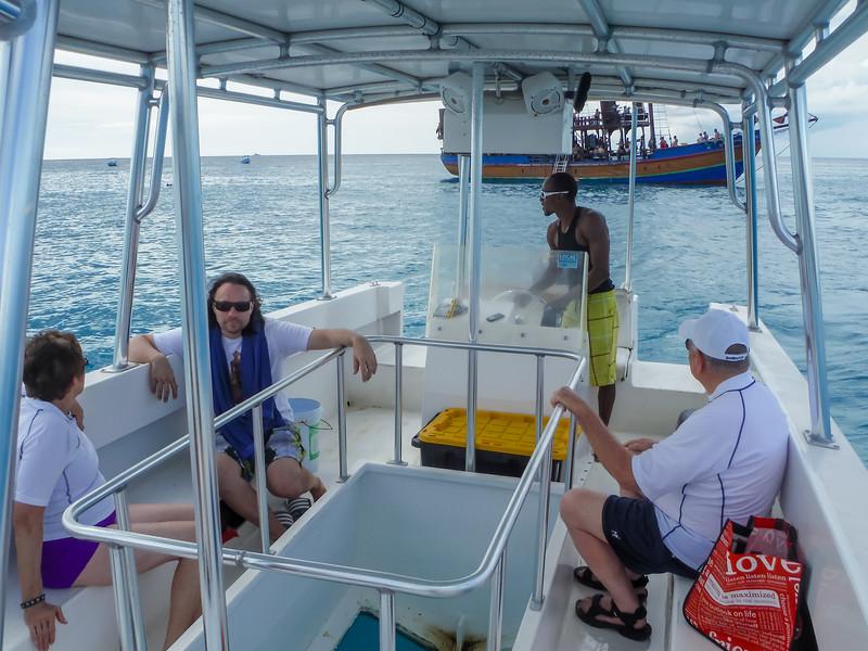 2015-01 Barbados Trip_0426 Snorkeling Trip to See the Turtles & Fish
