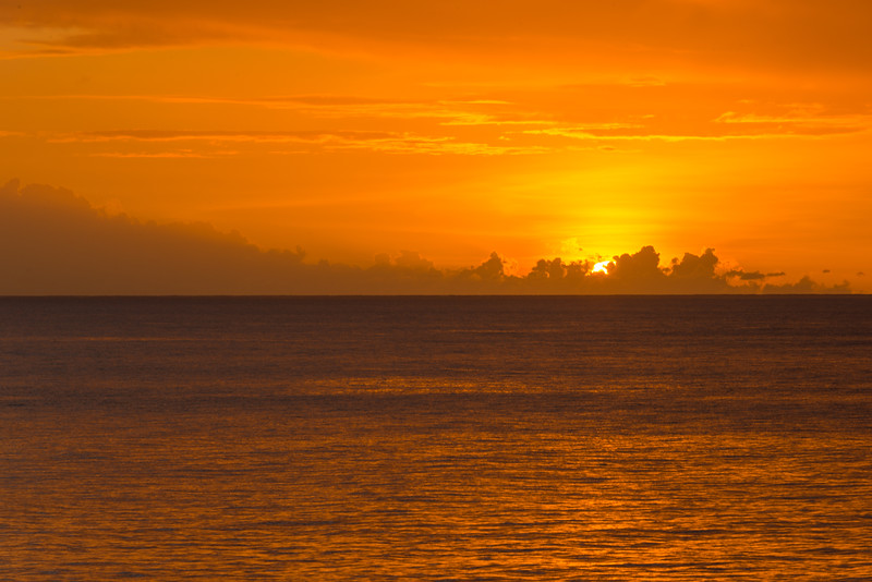 2015-01 Barbados Trip_0359 The Sunset from our Hotel Room Veranda