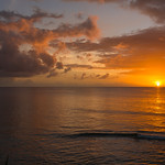 2015-01 Barbados Trip_0356 The Sunset from our Hotel Room Veranda