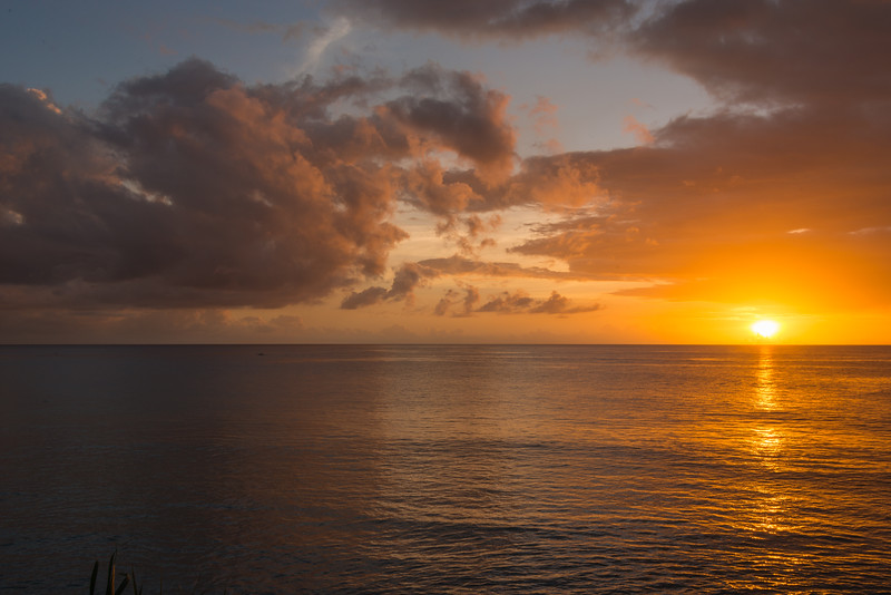 2015-01 Barbados Trip_0352 The Sunset from our Hotel Room Veranda