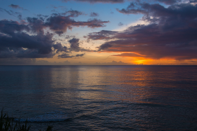 2015-01 Barbados Trip_0366 The Sunset from our Hotel Room Veranda