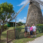 2015-01 Barbados Trip_0295 Lindsey, Daniel, Anita & Ron at a Sugar Mill