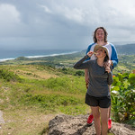 2015-01 Barbados Trip_0290 Daniel & Lindsey at Cherry Tree Hill