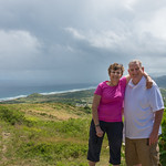 2015-01 Barbados Trip_0291 Ron & Anita at Cherry Tree Hill