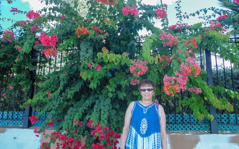 2015-01 Barbados Trip_0408 Anita on the Beach