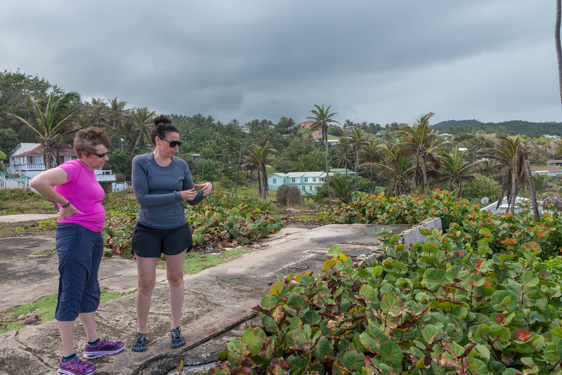 2015-01 Barbados Trip_0313 Anita & Lindsey at Bathsheba Beach