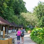 2015-01 Barbados Trip_0343 Anita & Lindsey at the Harrison Cave Canyon