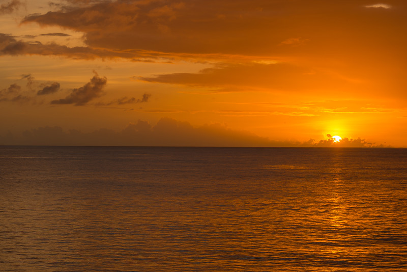 2015-01 Barbados Trip_0357 The Sunset from our Hotel Room Veranda