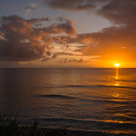 2015-01 Barbados Trip_0353 The Sunset from our Hotel Room Veranda_