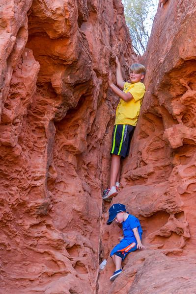 2015-07-17 Malik, Rhys & Walker in Pioneer Park_0054