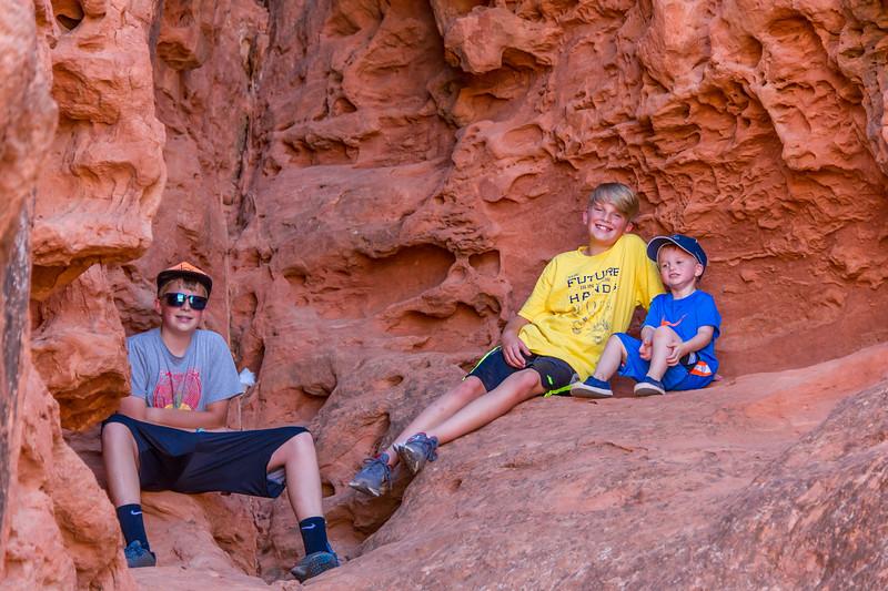 2015-07-17 Malik, Rhys & Walker in Pioneer Park_0047