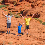 2015-07-17 Malik, Rhys & Walker in Pioneer Park_0040