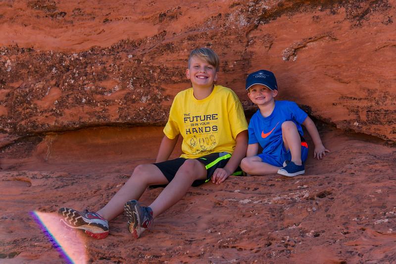 2015-07-17 Malik, Rhys & Walker in Pioneer Park_0003