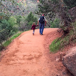 2015-10-17 Enloe Family at Zion National Park_0008 - Ron with Ayla on her Birthday