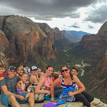 2015-10-17 Enloe Family at Zion National Park_0009 - Top of Angels Landing