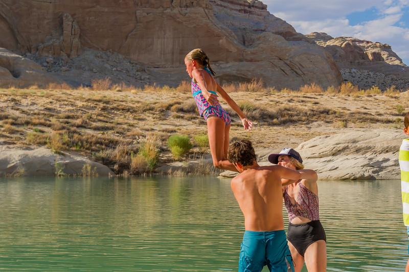 2016-08-14 Enloe Family at Lake Powell_0312