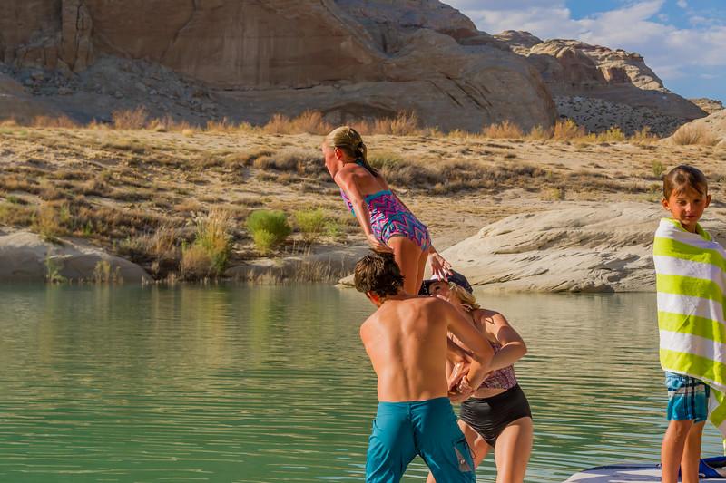 2016-08-14 Enloe Family at Lake Powell_0311