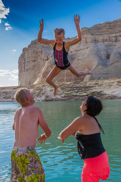 2016-08-14 Enloe Family at Lake Powell_0390