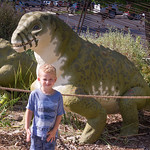 2016-08-27 Walker & Maggie at the Vernal Dinosaur Museum_0082