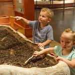 2016-08-27 Walker & Maggie at the Vernal Dinosaur Museum_0101