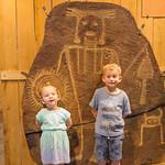 2016-08-27 Walker & Maggie at the Vernal Dinosaur Museum_0130