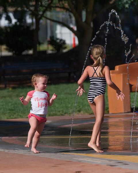 2016-09-09 Ayla & Maggie at the Splash Park_0007