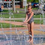 2016-09-09 Ayla & Maggie at the Splash Park_0265