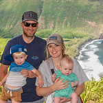 2019-12 Christmas in Kona_0226 - Parker, Pam Miles & Mason at Wiapio