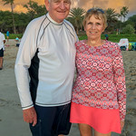 Ron & Anita on Hapuna Beach
