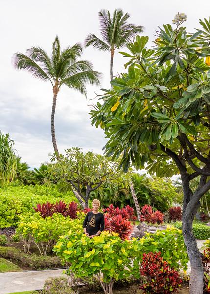 Anita at our Resort
