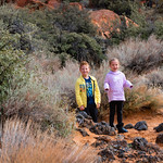 Hiking to Jenny's Canyon in Snow Canyon State Park