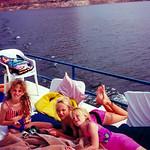 1990c Lake Powell - Hillary, Nicole & Pam-2
