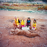 1990c Lake Powell - Nicole, Hillary, Pam & Annie