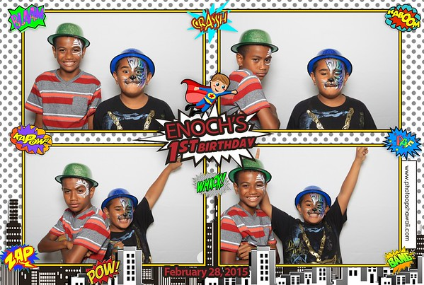 Enoch's 1st Birthday (Fusion Photo Booth)