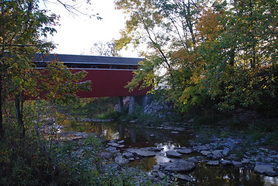 Covered Bridge in Late September
