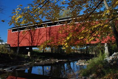 Enochsburg Bridge in October