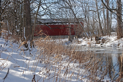 Bridge After a Snowfall