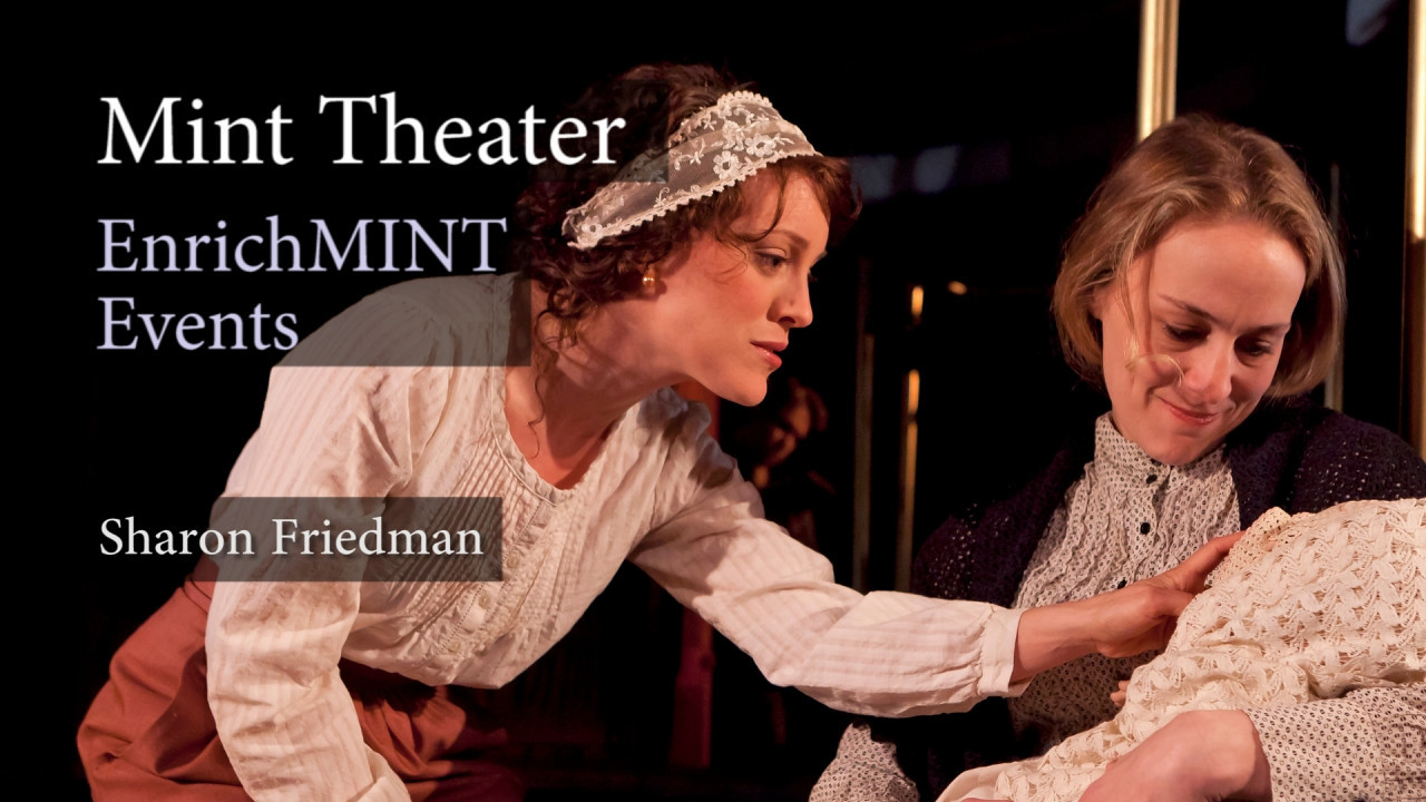 "Dr. Sharon Friedman: The Pullman Porter<br /> <br /> Dr. Sharon Friedman from New York University speaks to the audience of the Mint Theater about Rachel Crothers, author of ""A Little Journey"". Recorded live on 5/21/2011. Video by Joshua Paul Johnson."