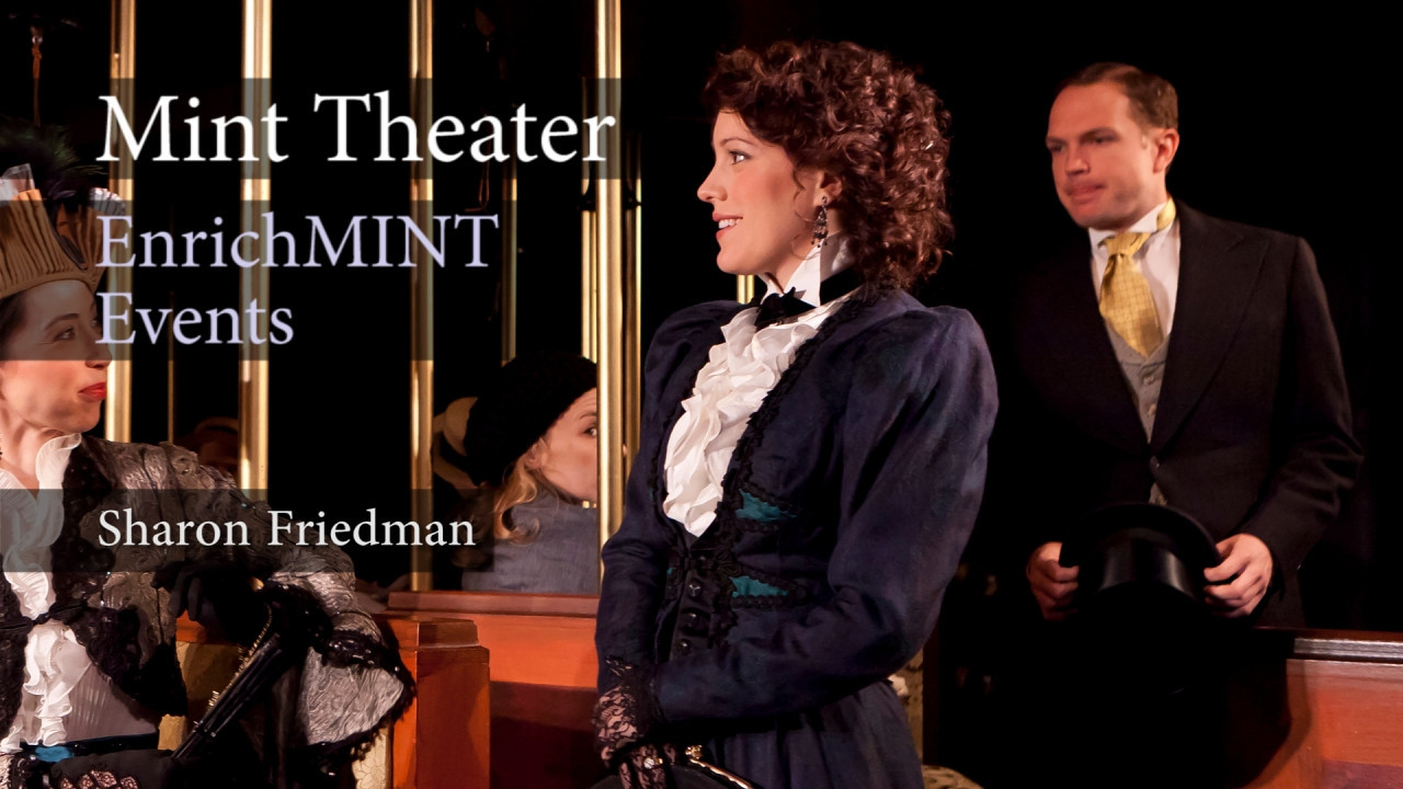 "Dr. Sharon Friedman: What was the original set like in 1918?<br /> <br /> Dr. Sharon Friedman from New York University speaks to the audience of the Mint Theater about Rachel Crothers, author of ""A Little Journey"". Recorded live on 5/21/2011. Video by Joshua Paul Johnson."