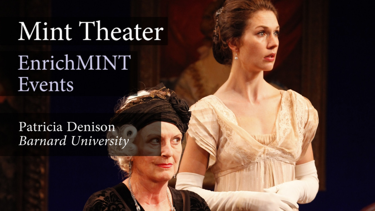 "Patricia Denison—Part 8: What will Mary do next?<br /> <br /> Patricia Denison, professor of dramatic literature at Barnard College and author of ""John Osborne: A Casebook"" visits Mint Theater to discuss MARY BROOME by Allan Monkhouse.   In this video segment, she and director, Jonathan Bank, discuss what may or may not happen to the play's heroine after the final act.  September 8, 2012.  Video by Joshua Paul Johnson."