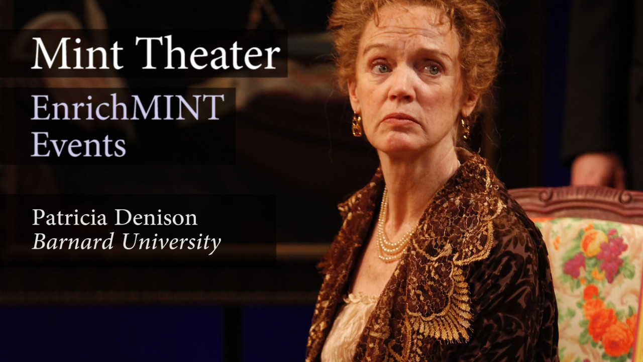 "Patricia Denison—Part 9: Did Mary receive courage from her mother-in-law?<br /> <br /> Patricia Denison, professor of dramatic literature at Barnard College and author of ""John Osborne: A Casebook"" visits Mint Theater to discuss MARY BROOME by Allan Monkhouse. In this video segment, she and director, Jonathan Bank, discuss the important relationship between Mary Broome and Mrs. Timbrell, as portrayed in the play.  September 8, 2012.  Video by Joshua Paul Johnson."