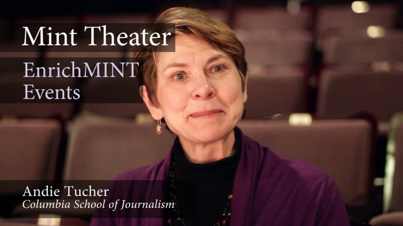 Andie Tucher, Columbia School of Journalism<br /> <br /> Professor Tucher, historian and journalist, discusses the background and context of the play, WHAT THE PUBLIC WANTS by Arnold Bennett. Video by Joshua Paul Johnson.