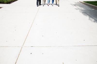 Students outside of Shepherd Union