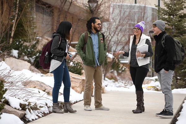 Winter Admissions Around Campus