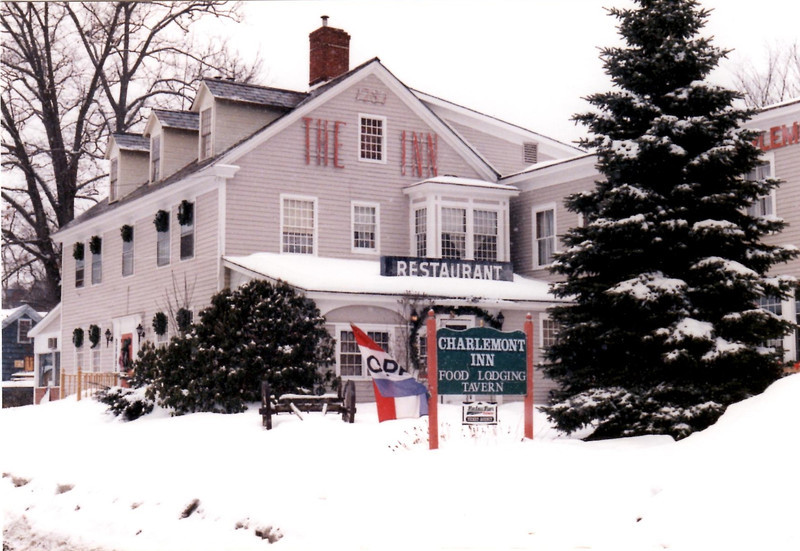 View if the Charlemont Inn in January 1999