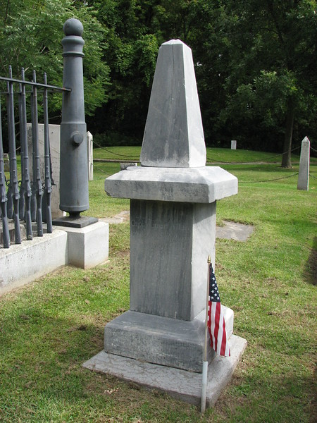 The gravestone of Heman Allen