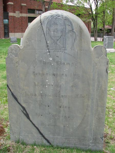 Jonathan Brown's grave