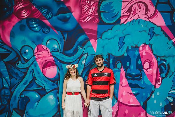 Ensaio Casal: Luiza e Italo