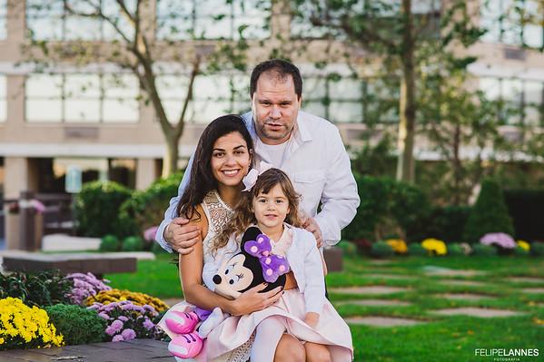 Ensaio Família: Carla, Seth e Sofia